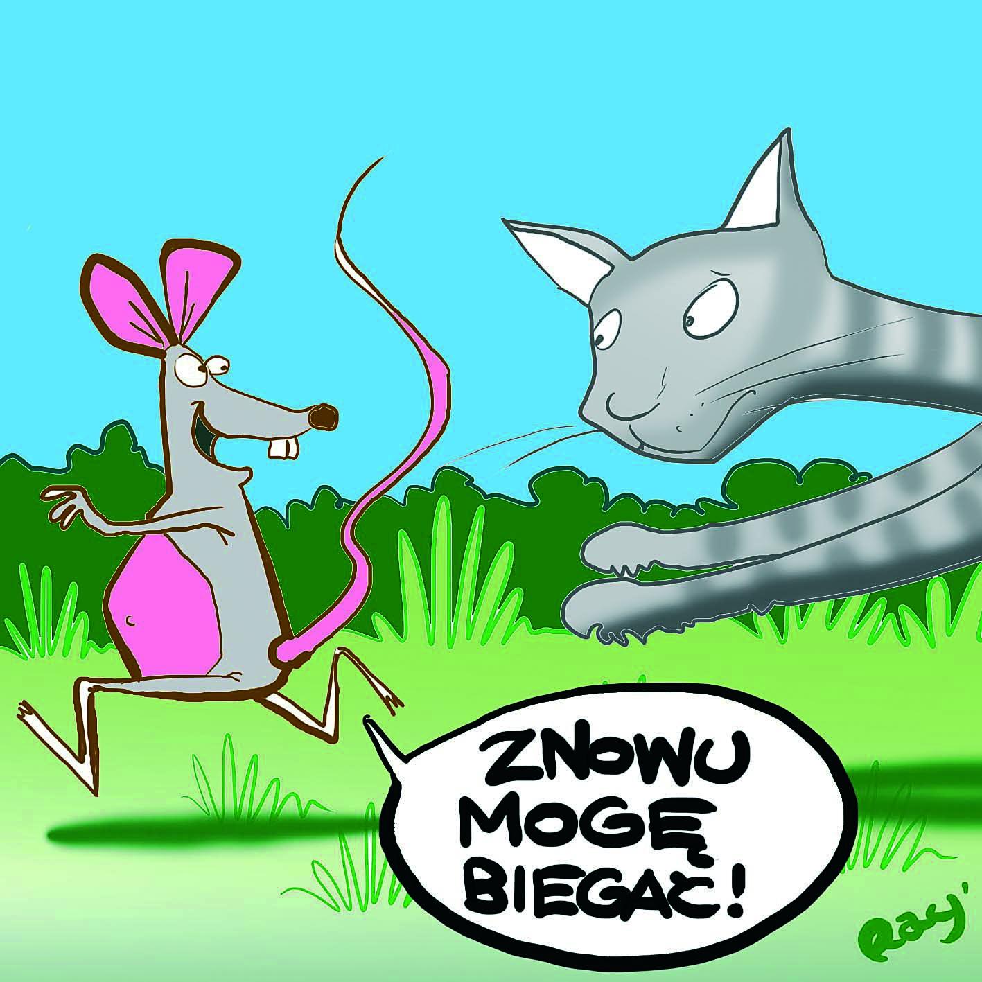 Sparaliżowane myszy uleczone