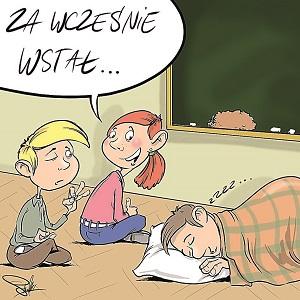 Młodzież powinna spać dłużej
